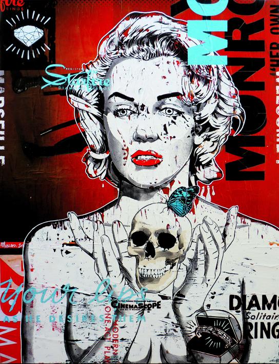Indoor - 2012 - Canvas - Seul le Diamant Reste Éternel