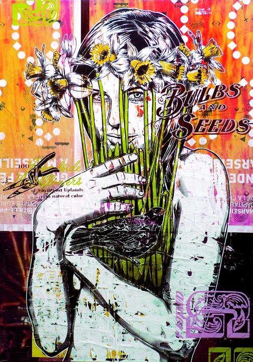 Indoor - 2013 - Canvas - Méditation Botanique