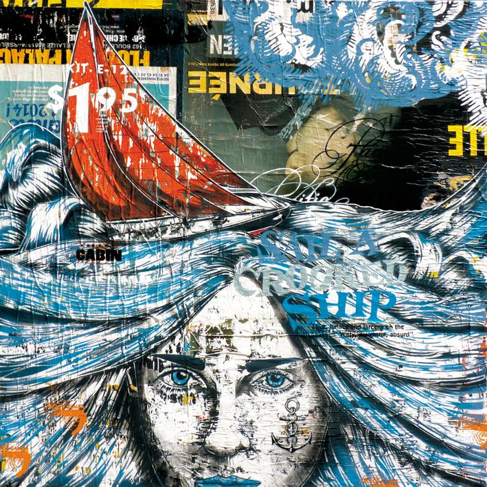 Indoor - 2014 - Toiles Canvas - Le solitaire en Pacifique
