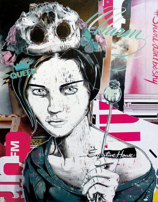 Indoor - 2015 - Canvas - L'imperatrice du moment Présent - 2