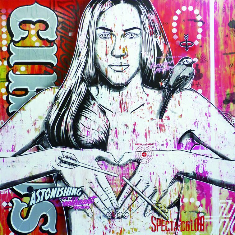 Indoor - 2015 - Canvas - Target Girl
