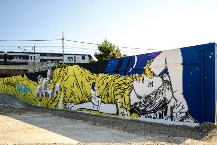 Outdoor - 2015 - Marseille - L2 - Hommage à Varian Fry - Façade 1