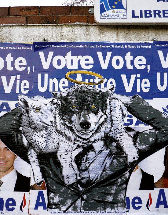 Outdoor - 2015 - Marseille - Votre vote une autre vie