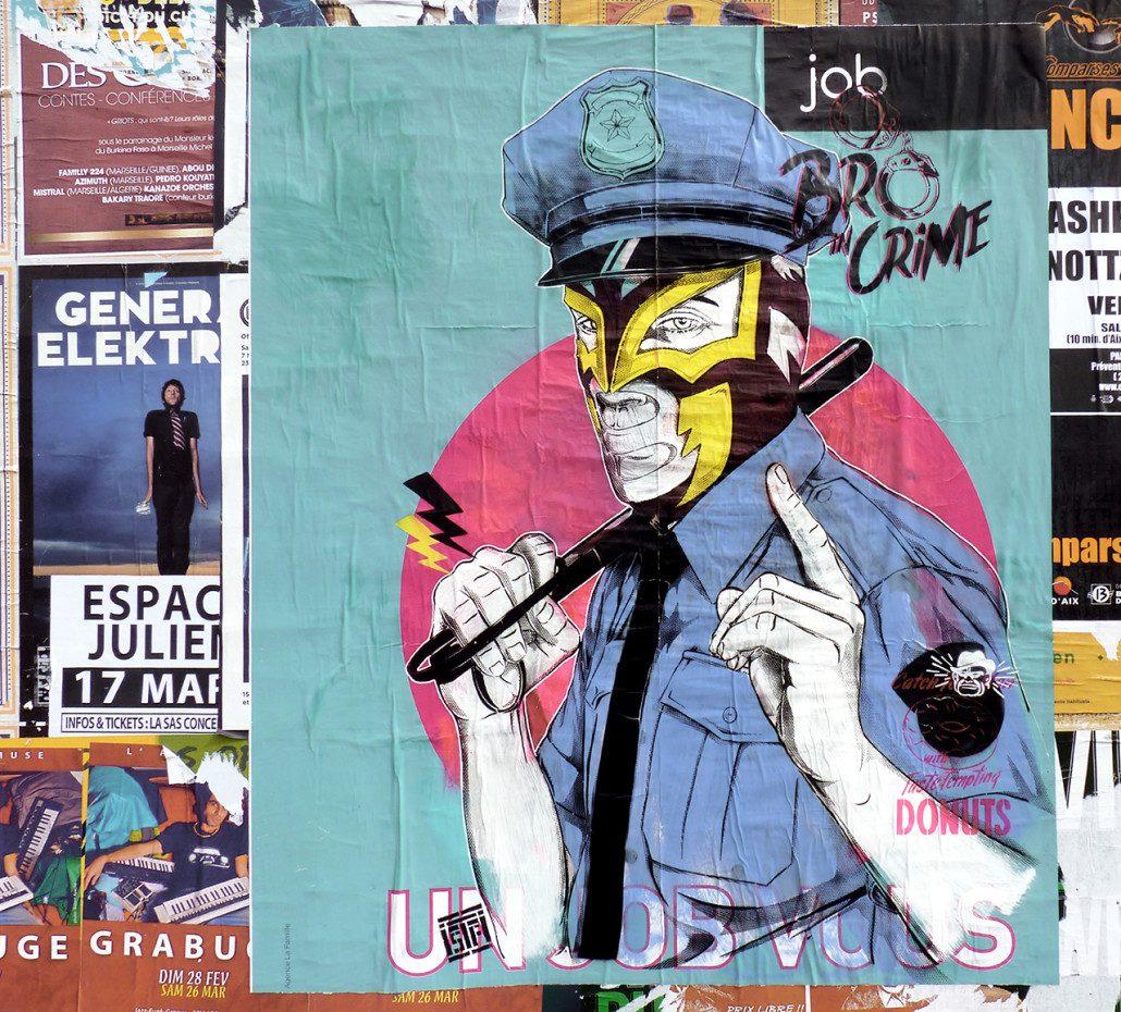 Outdoor - 2016 - Marseille - La Plaine - Le Justicier