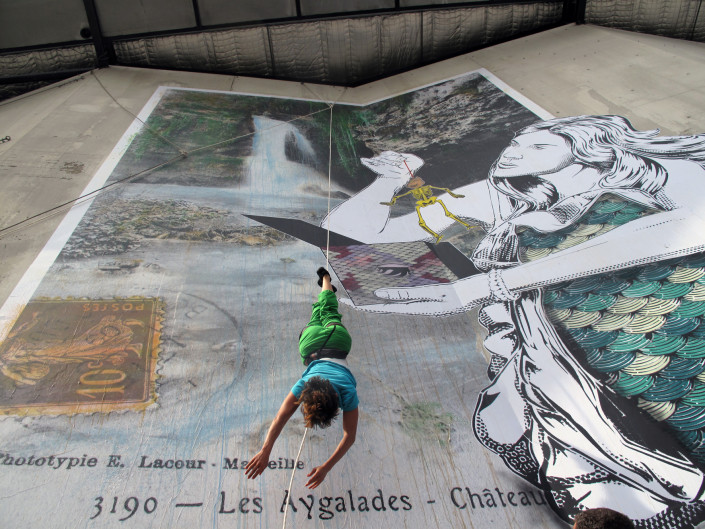 outdoor - 2014 - Marseille -PetitArtPetit - Sirène