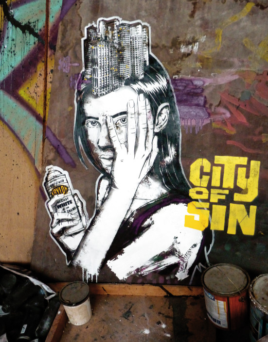 outdoor - 2014 - Marseille - Abattoirs - City of Sin