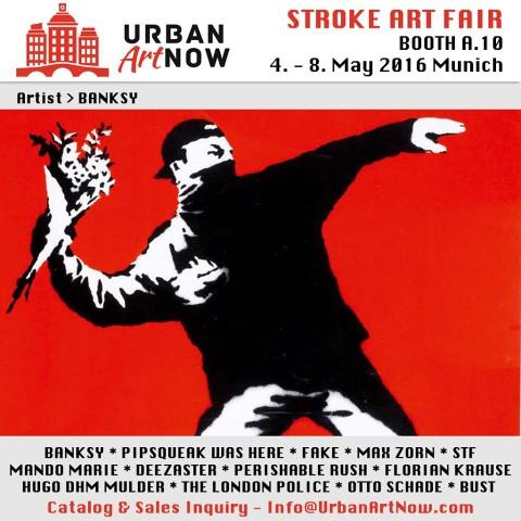 News - Urban Art Now @ Stroke Art Fair - BANKSY