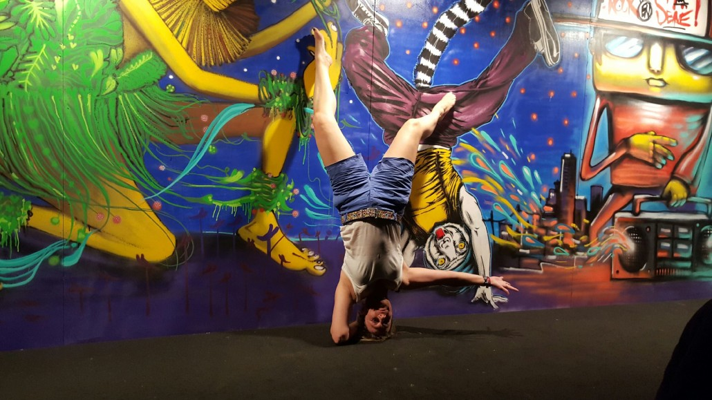 News - Outdoor - Street Art by Le Mur @ Rock en Seine 2016 - Dance