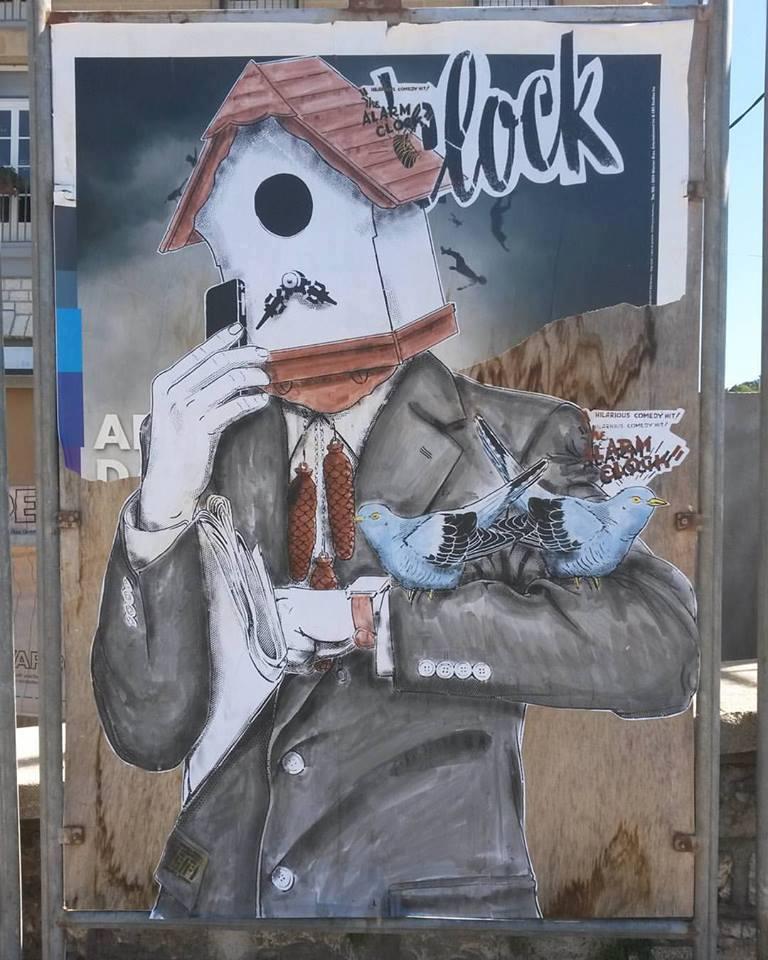 News - Outdoor - Festival de Street Art @ Sisteron - Août 2016 - Lamystificationdutemps