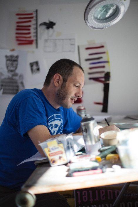 News - Livre - Stéphane MOSCATO - Papier s'il vous plait! - Portrait
