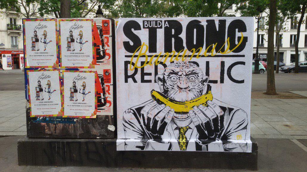 Outdoor - 2016 - Build a strong banana republic - Paris