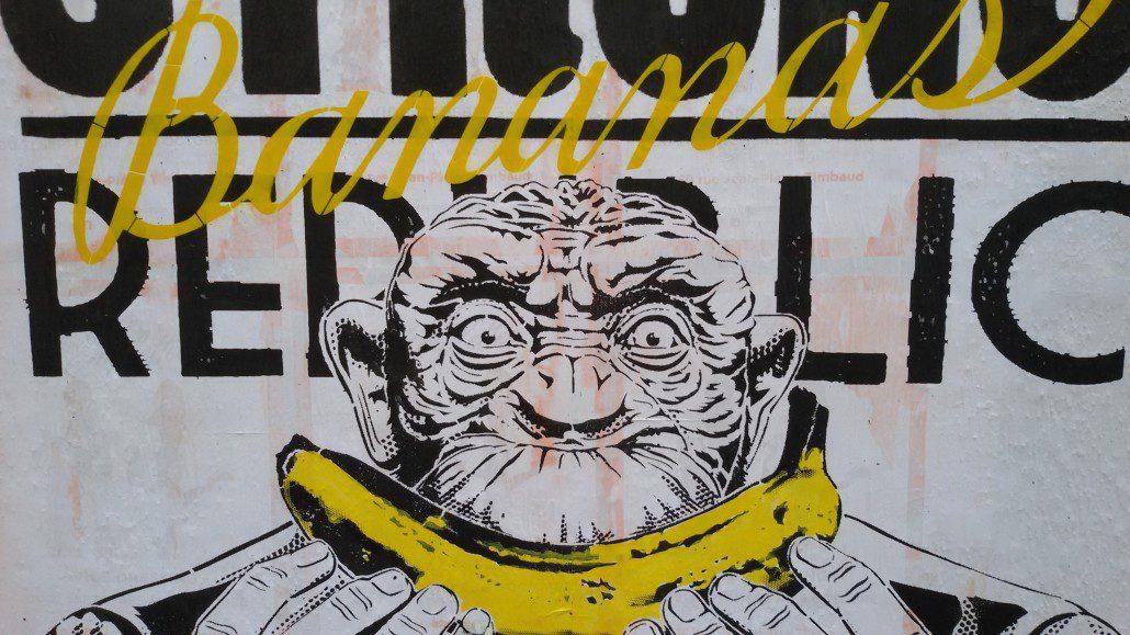 Outdoor - 2016 - Build a strong banana republic détail - Paris