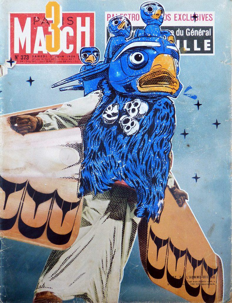 indoor-2016-pochoir-sur-couverture-de-magazine-mach3-colab-gallery-street-art-stephane-moscato