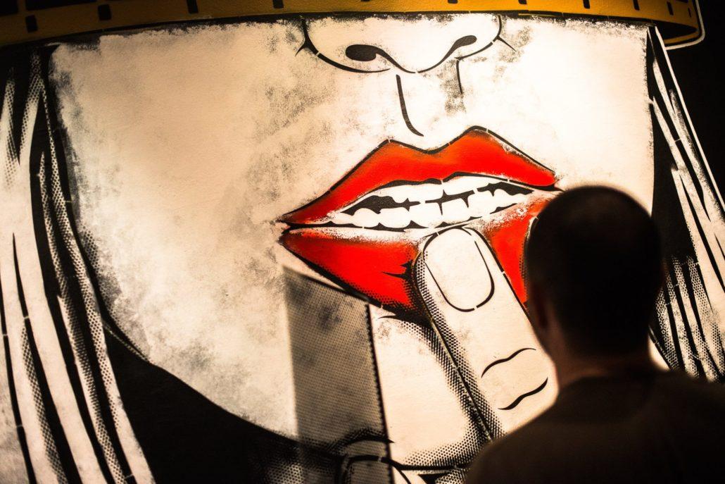 News 2017 -Exposition Hors Cadre - Projection privée - work in progress - Crédit Mathieu Prat