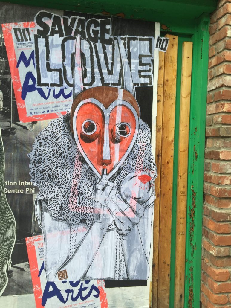 Outdoor - 2016 - Montreal - Ritual of love - Collage