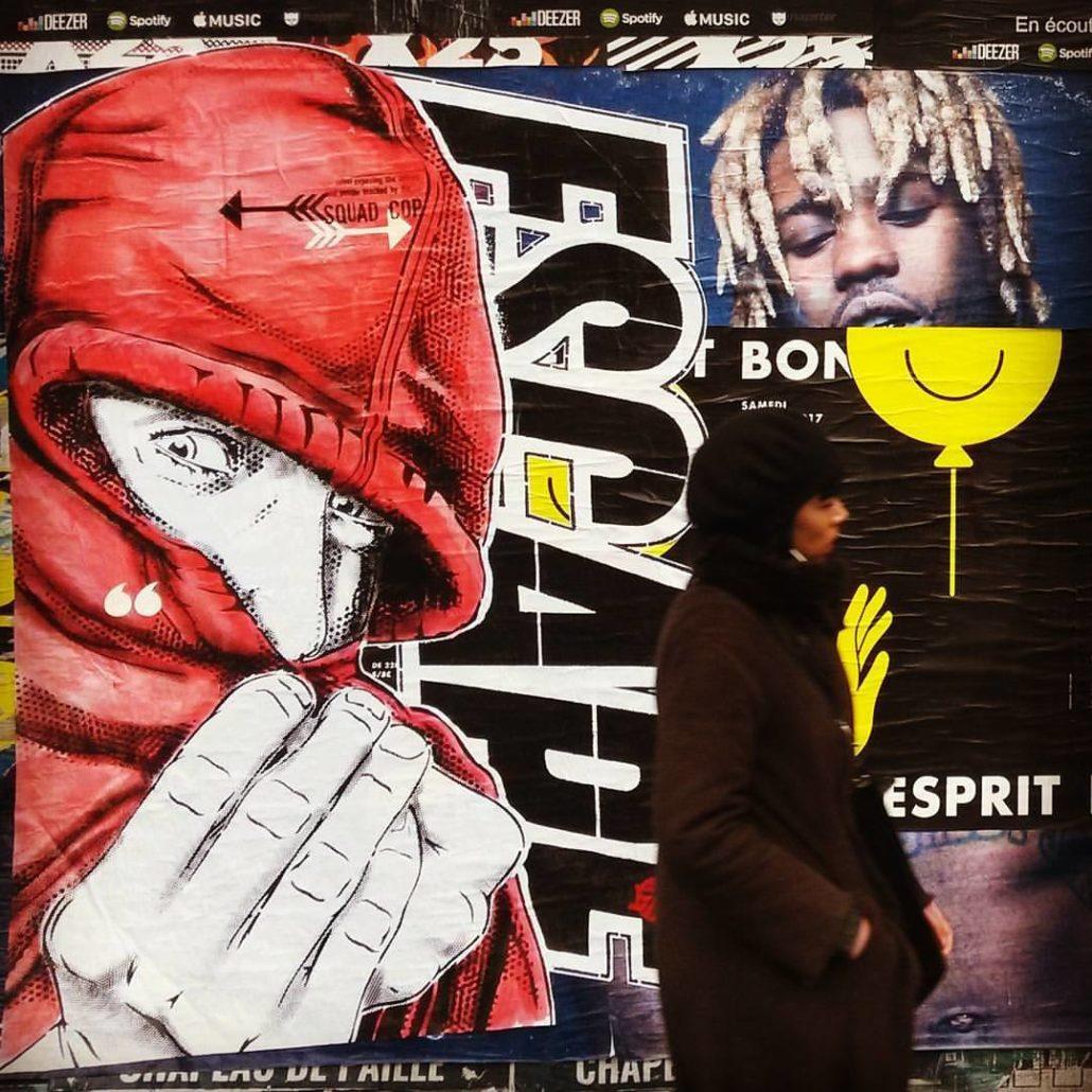 Outdoor 2017 - Rue - Collage Paris