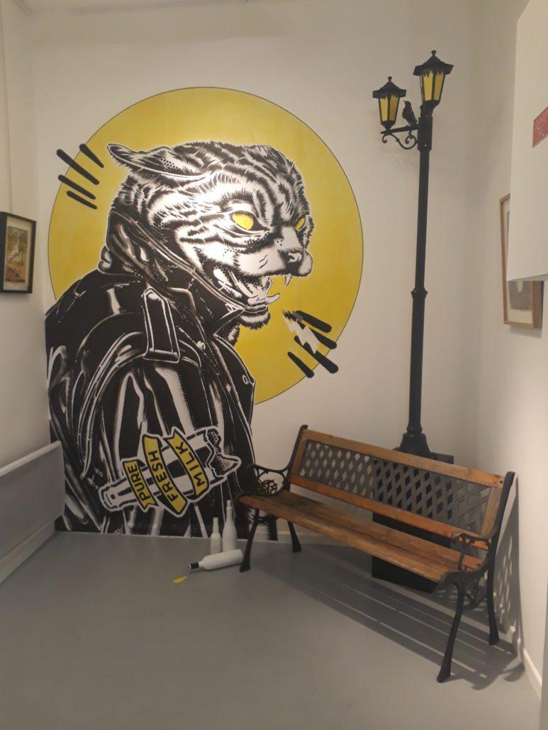 News 2018 - Exposition Roman Plastik - Nunc Galerie - Installation 2