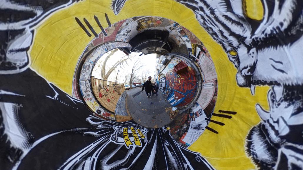 News 2018 - Street Art Portrait 360 - Cours Julien 2