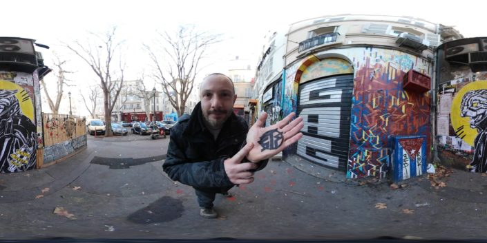 News 2018 - Street Art Portrait 360 - Cours Julien