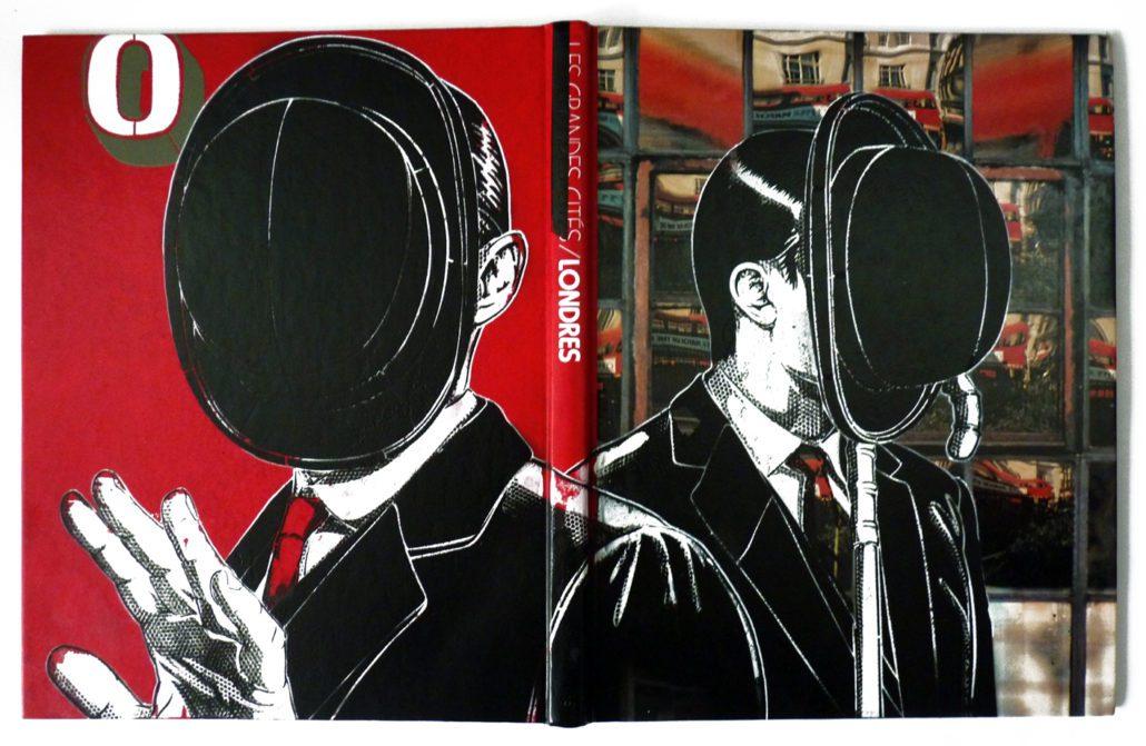 indoor 2018 - pochoir sur couverture de livre - should i stay or should i go