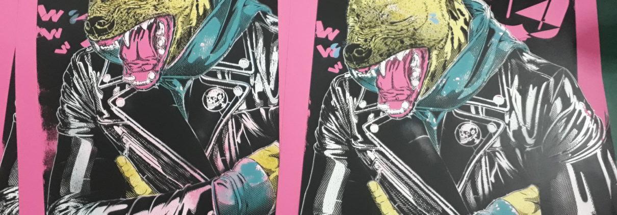 News - 2018 - Série Ca vous fait marrer ! - Stephane Moscato - Pochoirs sur papier - double