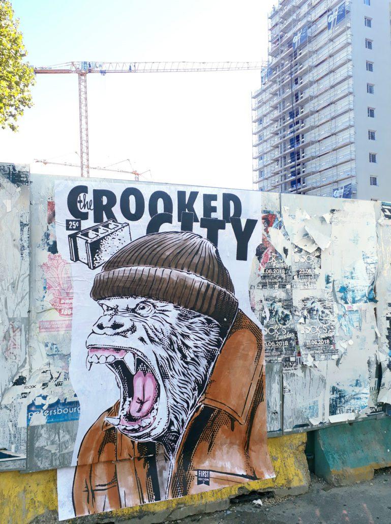 news-2018-stephane-moscato-collage-crooked-city-Dock des suds-marseille-fiesta des suds