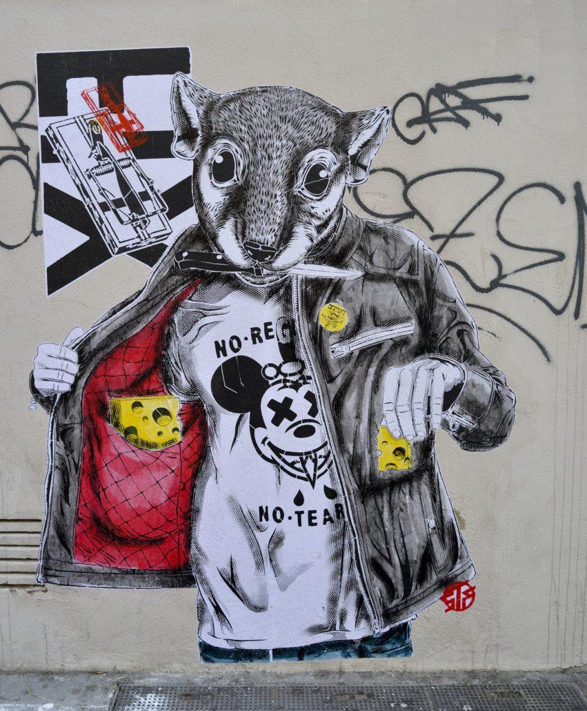 news-2018-stephane-moscato-collage-rat race-marseille-fiesta des suds