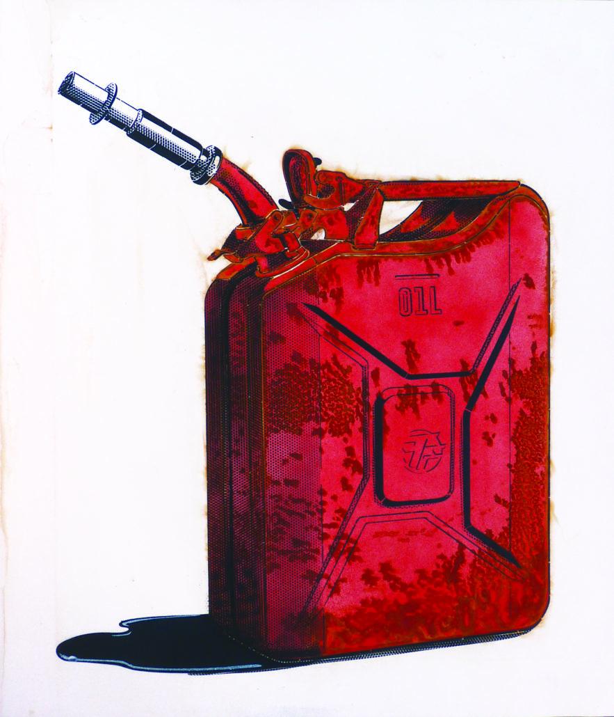 news-2019-expo-rust never sleep-stephane-moscato-gallery-daeppen-Holy Oil-70x60cm