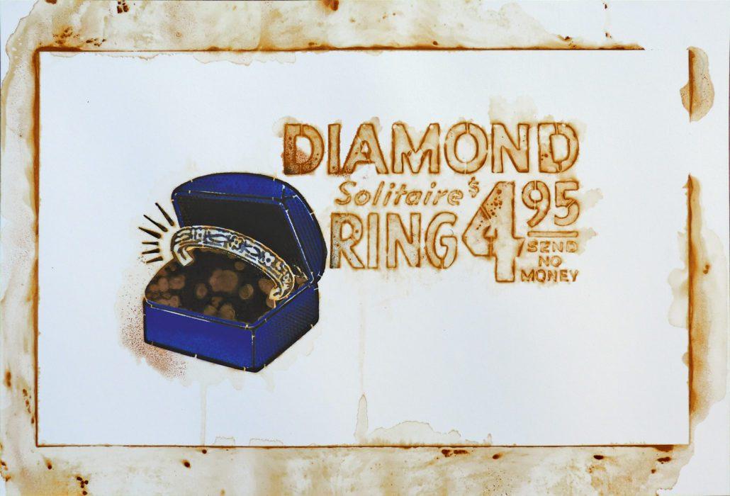 news-2019-expo-rust never sleep-stephane-moscato-gallery-daeppen-les diamants sont eternels-34x50cm