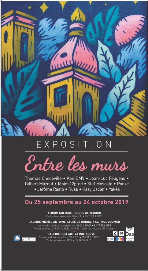 2019-expo-stephanemoscato-entre les murs- dax
